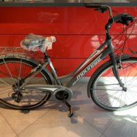 """Bicicletta City-Bike """"By Molinari """"Donna Alluminio 21 V colore Grigio Opaco"""