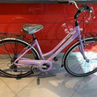 """Bicicletta City-Bike """"By Molinari """" Donna Alluminio 6 V colore Lilla"""