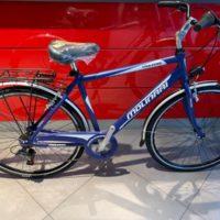 """Bicicletta City-Bike """"By Molinari """"Uomo Alluminio 6 V Misura 50  colore Blu Opaco"""