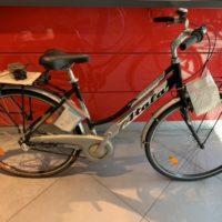 """Bicicletta City-Bike """"Atala  Discovery 28"""" Misura L  Donna Alluminio 3 V colore Argento-Nera"""