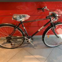 """Bicicletta City-Bike """"Atala  Rondine 28"""" Uomo Alluminio 6 V colore Nera"""