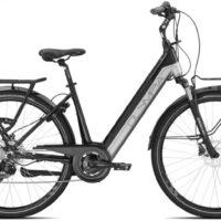 """Bicicletta E-Bike Olympia """"Marathon Comfort 26""""  Alluminio Donna Colore Argento"""