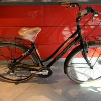"Bicicletta City-Bike ""By Molinari "" Donna Alluminio 6 V colore Nero Opaco"