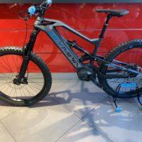 "Bicicletta Mtb  E-Bike Full Olympia ""Hammer"" Carbonio Taglia M"