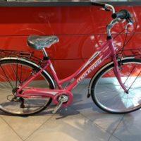 """Bicicletta City-Bike """"By Molinari """" Donna Alluminio 6 V colore Fucsia"""