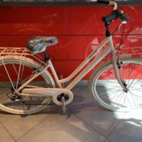 """Bicicletta City-Bike """"By Molinari """" Donna Alluminio 6 V colore Rosa Opaco"""
