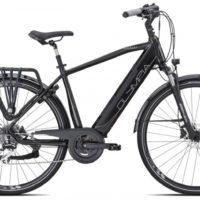 """Bicicletta E-Bike Olympia """"Magnum 700 """"Alluminio Uomo Colore Nera"""