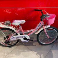 """Bicicletta Bimba Brera  """"KELLY""""  Ruota 20 Pollici""""Acciaio 6 Velocità Colore Rosa"""