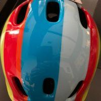 Casco Bicicletta Ciclo Bimbo Bernardi Polisport Rainbow misura XXS 44-48 colore Arcobaleno