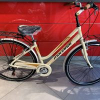 "Bicicletta City-Bike ""By Molinari ""Donna  Alluminio 6 V colore Beige"