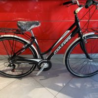 "Bicicletta City-Bike ""By Molinari "" Donna Alluminio 6  V colore Nero Lucido"