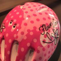 Casco Bicicletta Ciclo Bimba Bernardi Flowers Lover misura S 50-52 colore Rosa Fucsia