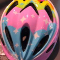Casco Bicicletta Ciclo Bimba Mvtek modello Unicorno misura S/M 52-56 colore Arcobaleno