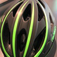 Casco Bicicletta Ciclo per Adulto marca Mvtek modello Radeon misura L 58-61 colore Nero Opaco – Verde fluo