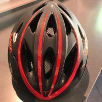 Casco Bicicletta Ciclo per Adulto marca Mvtek modello Radeon misura L 58-61 colore Nero Opaco – Rosso