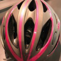 Casco Bicicletta Ciclo per Donna marca Mvtek modello Radeon misura L 58-61 colore Grigio opaco – Fucsia