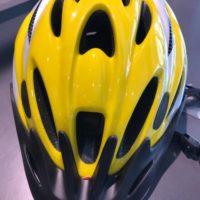 Casco Bicicletta Ciclo per Adulto marca J&J misura M 54-58 colore Giallo