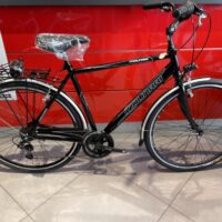 """1-Bicicletta City-Bike """"By Molinari """" Uomo Alluminio 6 V Taglia 54 colore Nero Lucido"""