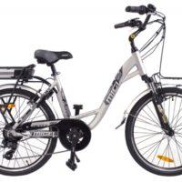 """Bicicletta E-Bike Mi.Gi """"Betty 24 Donna """" Alluminio Donna Colore Grigia"""