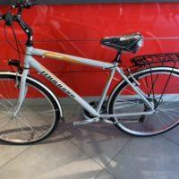 """Bicicletta City-Bike """"By Molinari """" Uomo Alluminio 6 V Misura 50 colore Argento Lucido"""