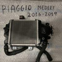 Radiatore Acqua Completo Medley 125-150 cc 2016-2019 , USATO Km 7000 Perfetto