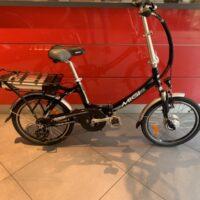 """Bicicletta Pieghevole E-Bike Mi.Gi """"Sprint Plus 20   """" Alluminio Donna Colore Nera"""