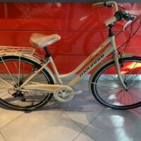 "Bicicletta City-Bike ""By Molinari "" Donna Alluminio 6  V colore Cappuccino Opaco"