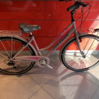 "Bicicletta City-Bike ""By Molinari "" Donna Alluminio 6  V colore Rosa Opaco"