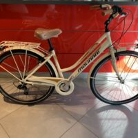 "Bicicletta City-Bike ""By Molinari "" Donna Alluminio 6  V colore Beige Opaco"