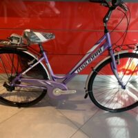 "Bicicletta City-Bike ""By Molinari "" Donna Alluminio 6  V colore Viola  Lucido"