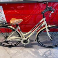 """1-Bicicletta City-Bike  """"By Molinari """" Donna Alluminio 6 V Telaio 43 colore Panna   Lucido"""