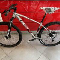 """9-Bicicletta Mtb 29 """"Olympia Drake """"Alluminio RACE SXE 12 V Telaio Misura L , Colore  Argento"""