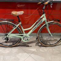 """Bicicletta City-Bike """"By Molinari """" Donna Alluminio 6  V colore Verde  Lucida"""