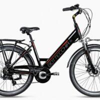 """Bicicletta E-Bike BOTTECCHIA  """"BE 15 TRK LADY'"""" 26 Alluminio Donna Colore Nero   Lucido,"""
