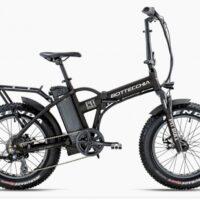 """Bicicletta E-Bike BOTTECCHIA  """"BE 01 PIT BULL FAT 20  Motore Ruota posteriore  Batteria  522 Wh  Alluminio Donna Colore Nera  Opaca ,"""