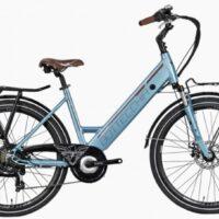 """92-Bicicletta E-Bike BOTTECCHIA  """"BE 15 TRK LADY'"""" 26 Alluminio Donna Colore Azzurro,"""