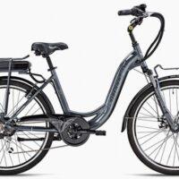 """3-Bicicletta E-Bike BOTTECCHIA  """"BE 11 TRK LADY'"""" 26 Alluminio Donna Colore Argento"""
