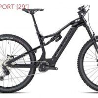 """Bicicletta Mtb  E-Bike Full Top Gamma   Olympia """"KARBO 900 SPORT   """" Carbonio  Taglia M Nera Lucido"""