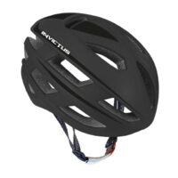 Casco Bicicletta Ciclo  marca Mvtek modello INVICTUS misura L 58-61 colore Nero opaco – Nero