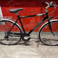 """1-Bicicletta City-Bike """" By Molinari """"Uomo Alluminio 6 V Misura 54 colore Nero Licido"""
