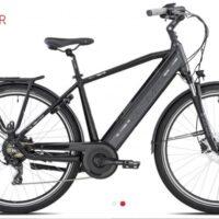 """Bicicletta E-Bike Olympia """"Super Roadster MAN 700 """"UOMO Donna Colore Nera-Antracite, Batteria 480 Wh"""