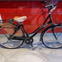 """96-Bicicletta """"By Molinari""""  Olanda """"Lady 26 """" Donna Acciaio  1 V Misura 44 colore Nero Lucido"""