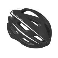 Casco Bicicletta Ciclo  marca Mvtek modello INVICTUS misura L 58-61 colore Nero opaco – Bianco