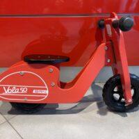 """Bici In Legno Pedagogica Tipo """"VESPA """"Colore ROSSA"""