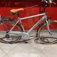 """Bicicletta City-Bike """" By Molinari """"Uomo Alluminio 6 V Misura 54 colore Argento Opaco"""