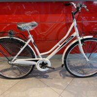 """96-Bicicletta """"By Molinari""""  Olanda """"Lady 26 """" Donna Acciaio  1 V Misura 44 colore Bianca  Lucido"""