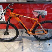 1-Bicicletta Mtb 29 Pollice Alluminio 21 V Telaio DISCO MECCANICO   Misura 53 Arancione
