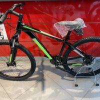 1-Bicicletta Mtb 29 Pollice Alluminio 21 V Telaio DISCO MECCANICO   Misura 48 Nero Opaco-Verde