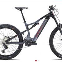 """Bicicletta E-Bike FULL Olympia """"EX 900 Sport 2021 """" Taglia S Motore 85 Nm Olieds Batteria 900 Wh Colore Argento-Nero"""