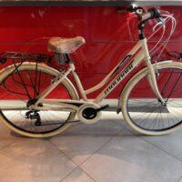 """1-Bicicletta City-Bike """"By Molinari """"Donna  Alluminio 21 V Grip colore Beige"""